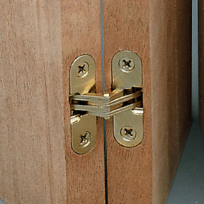"""Invisible Hinge 1/2"""" x 1-3/4"""""""
