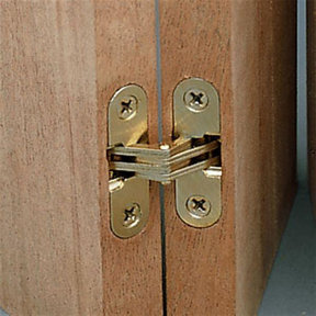 """Invisible Hinge 1/2"""" x 2-3/8"""""""