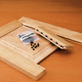 Space Balls for Frame and Panel Doors - 100 Piece