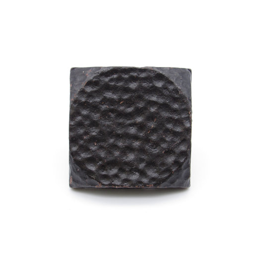 """View a Larger Image of Square 1-1/2"""" Hammered Clavo Decorative Nail, 4-Pack, Black Oxide"""