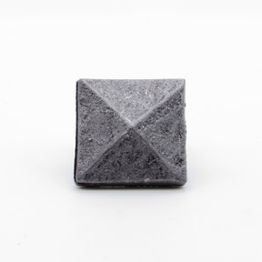 """Square 1-1/8"""" Clavo Decorative Nail, 8-Pack, Pewter Oxide"""