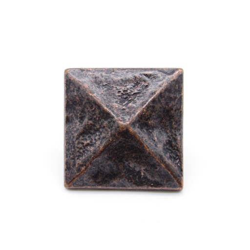 """View a Larger Image of Square 1-3/8"""" Pyramid Clavo Decorative Nail, 8-Pack, Oil Rubbed Bronze"""