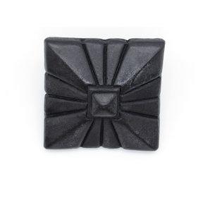 "Square 1-7/8"" Clavo Decorative Nail, 4-Pack, Black Oxide"