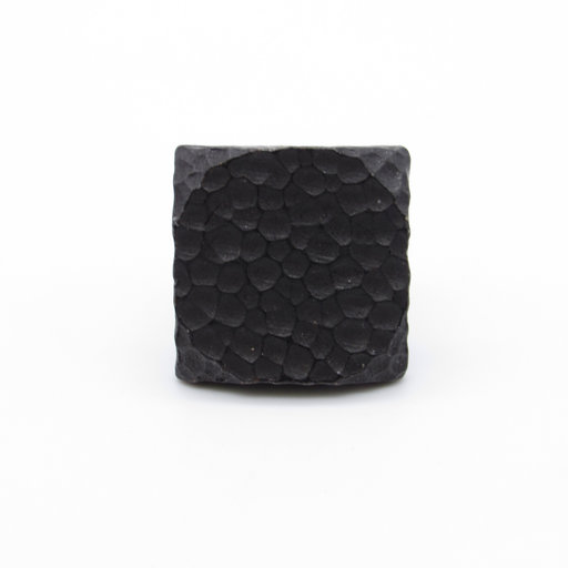 """View a Larger Image of Square 1"""" Hammered Clavo Decorative Nail, 4-Pack, Black Oxide"""
