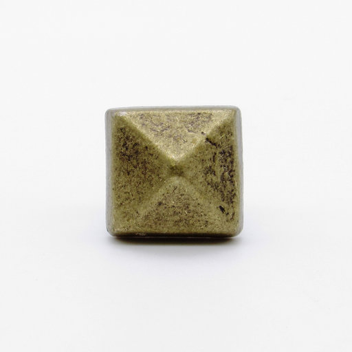 """View a Larger Image of Square 5/8"""" Clavo Decorative Nail, 4-Pack, Brass Oxide"""