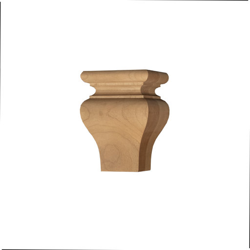 View a Larger Image of Square Tulip Furniture Foot Cherry