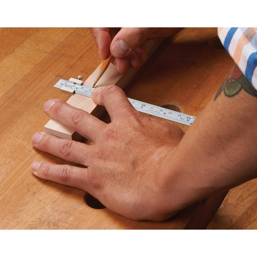 """View a Larger Image of Stainless Steel 6"""" Ruler"""
