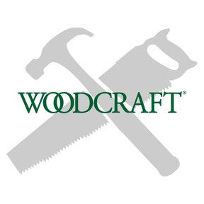 """Miniature Narrow Solid Brass Hinge 1"""" L x 3/4"""" Open w/screws 2 Pair"""