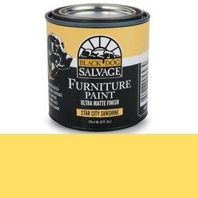 Star City Sunshine' - Yellow Furniture Paint, 1/2 Pint 236.6ml (8 fl. Oz.)