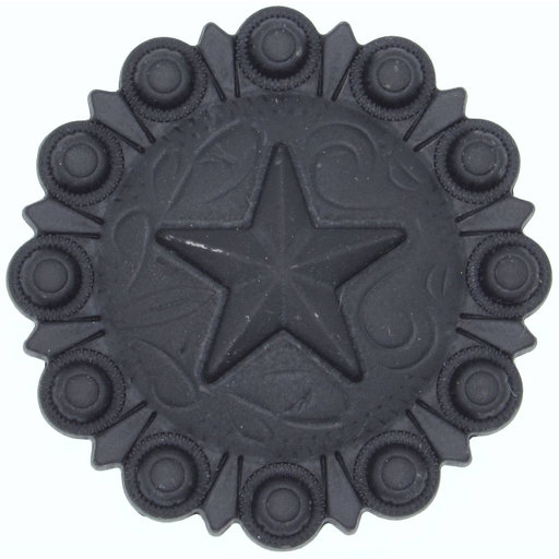 View a Larger Image of Star Conch Knob, Oil Rubbed Bronze