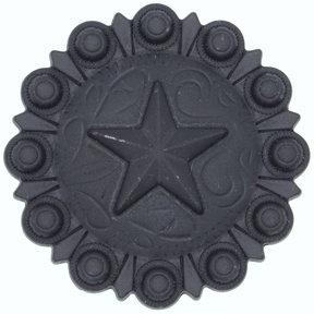 Star Conch Knob, Oil Rubbed Bronze