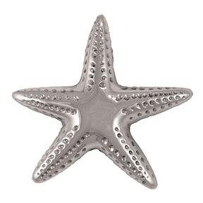 Starfish Doorbell Ringer - Nickel Silver