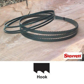 "Duratec SFB Bandsaw Blade - 105"" x 1/2"" x 4 TPI - Hook"
