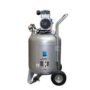 2HP 30 Gallon Oil-Free Steel Tank Air Compressor with Auto Drain Valve