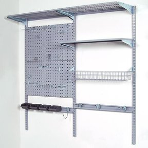 Storability Garage Wall Storage System, Model 1740