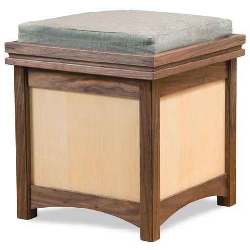 View a Larger Image of Storage Ottoman Downloadable Plan