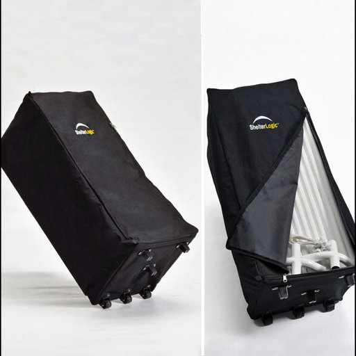 View a Larger Image of Store-IT Canopy Rolling Storage Black Bag