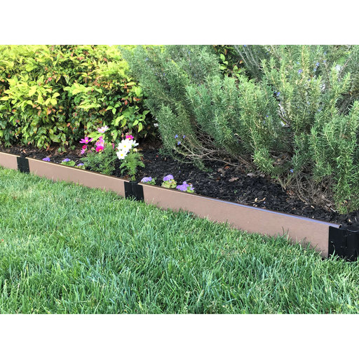 """View a Larger Image of  Straight Landscape Edging Kit 16' - 1"""" profile"""