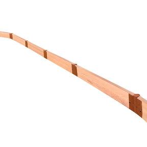 "Classic Sienna Straight Landscape Edging Kit 16' - 2"" profile"