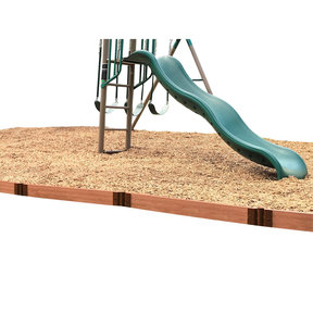 "Classic Sienna Straight Playground Border 16' – 2"" profile"