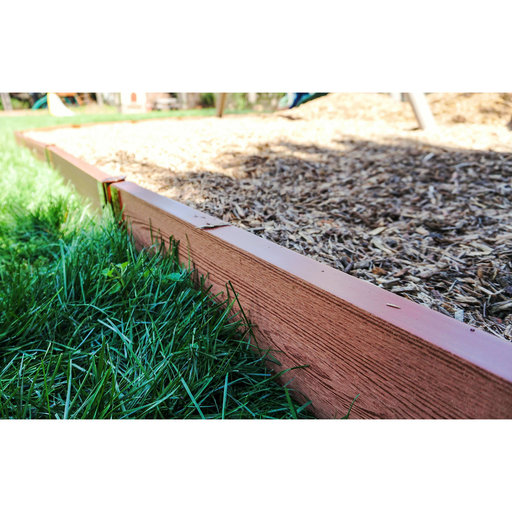 """View a Larger Image of Classic Sienna Straight Playground Border 16' – 2"""" profile"""