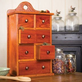 Sugar and Spice Cabinet - Downloadable Plan