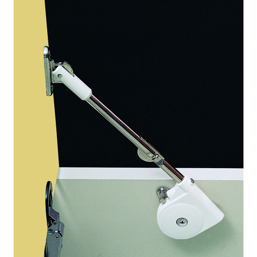 View a Larger Image of Adjustable Soft Down Lid Stay Model SDS-C301N White