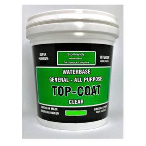 Super Premium General All Purpose Top-Coat Flate-Matte Quart