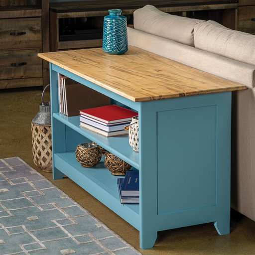 View a Larger Image of Super Sofa Table Downloadable Plan