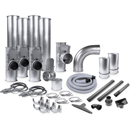 """View a Larger Image of Supercell 4""""/2.5"""" Quick-Clamp Ductwork Kit"""