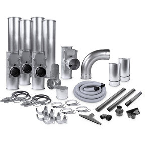 """Supercell 4""""/2.5"""" Quick-Clamp Ductwork Kit"""