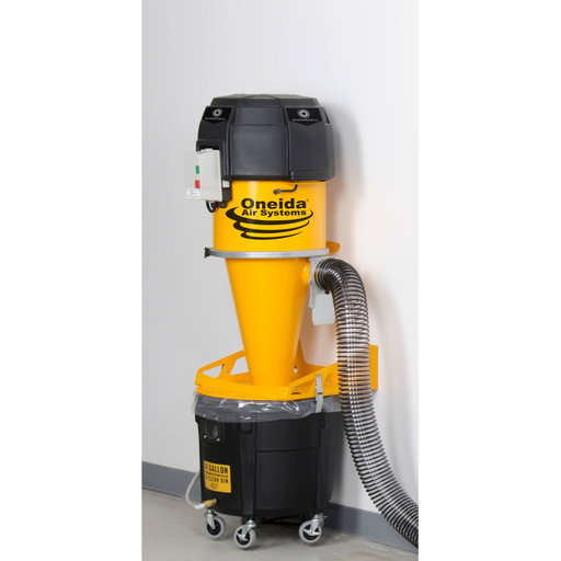 View a Larger Image of Supercell High-Pressure Dust Collector, 14 Gallon