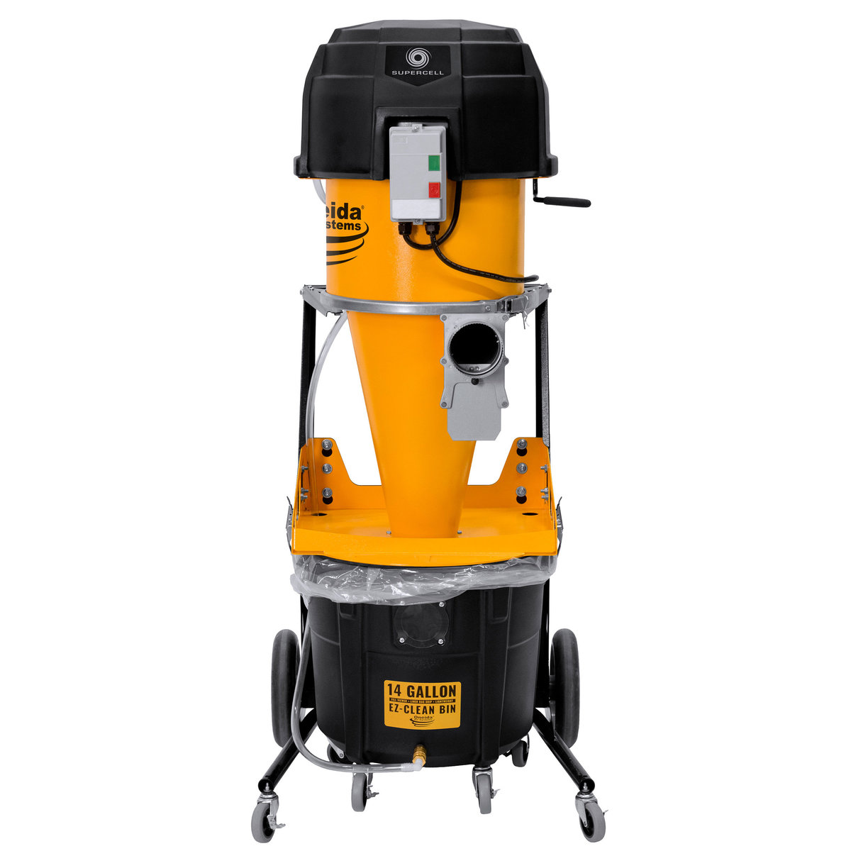 View a Larger Image of Supercell Mobile High Pressure Dust Collector, 14 Gallon