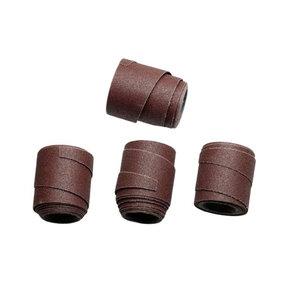Pre-Cut Abrasive Wraps for 16-32 Drum Sanders - 80 Grit - 4 Piece