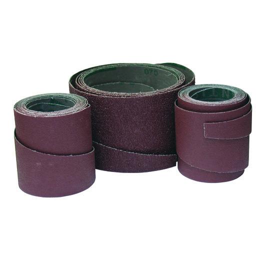 "View a Larger Image of Sandpaper Wraps for 25"" Drum Sander, 180 Grit, 3-Pack"