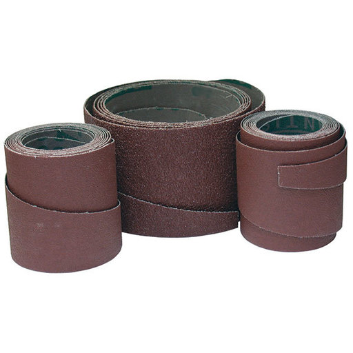 "View a Larger Image of Sandpaper Wraps for 25"" Drum Sander, 36 Grit, 3-Pack"