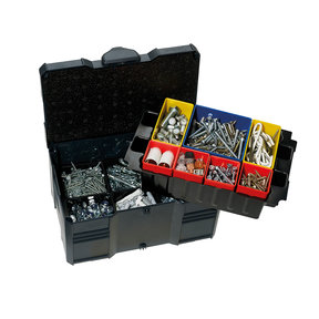 Systainer MINI T-LOC III with Box Insert Set, 6 divisions, Anthracite