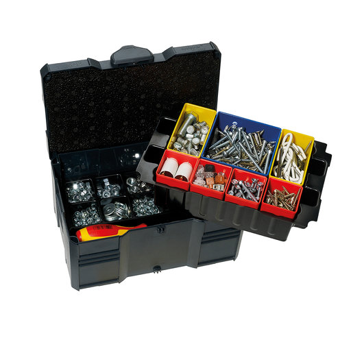 View a Larger Image of Systainer MINI T-LOC III with Box Insert Set, 8 divisions, Anthracite