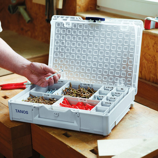 View a Larger Image of Systainer³ Organizer M89 Storage Container, Light Gray