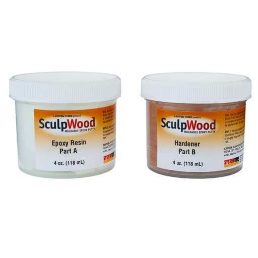 View a Larger Image of Putty Epoxy Sculpwood 8 oz