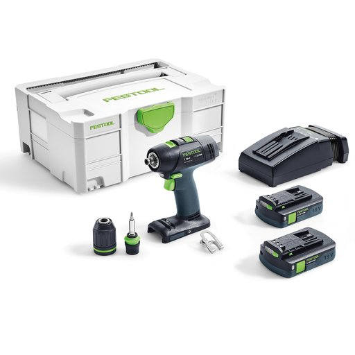 View a Larger Image of T18+3 I-Compact Cordless Drill Set