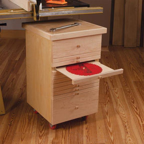 Tablesaw Accessories Cabinet - Paper Plan