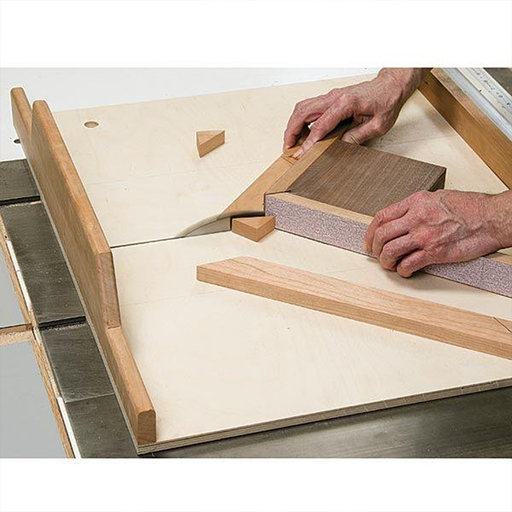 View a Larger Image of Tablesaw Miter Sled - Paper Plan