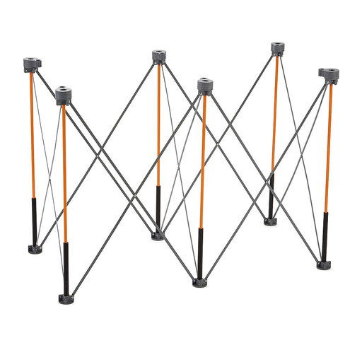 """View a Larger Image of Tall Centipede 2' x 4' x 36"""" Unit, 4 X-Cups, 2 Quick Clamps, Bag"""