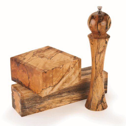 """View a Larger Image of Tamarind, Spalted 4"""" x 4"""" x 8"""""""