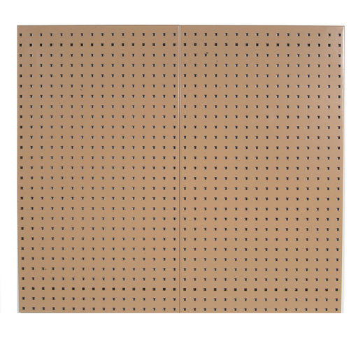 View a Larger Image of Tan Epoxy, 18 Gauge Steel Square Hole Pegboards