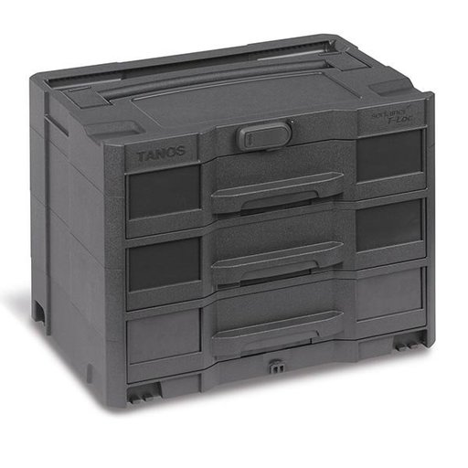View a Larger Image of T-LOC SYS-Sort IV/3 systainer, Anthracite