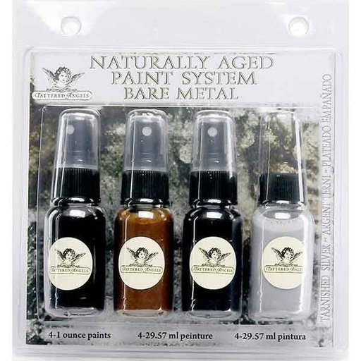 View a Larger Image of Naturally Aged Faux Finish Paint Kit, Tarnished Silver