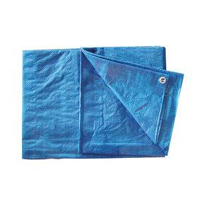 Tear-Resistant Polyethylene Tarp Blue 10' X 20'