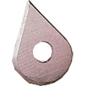 Teardrop Carbide Blade